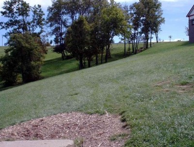 Lincoln Ridge Park, Main course, Hole 21 Tee pad