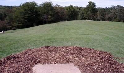 Lincoln Ridge Park, Main course, Hole 12 Tee pad