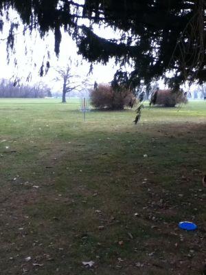 Sunnybrook, Main course, Hole 2 Reverse (back up the fairway)