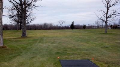 Sunnybrook, Main course, Hole 14 Long tee pad