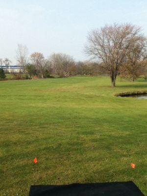Sunnybrook, Main course, Hole 5 Tee pad