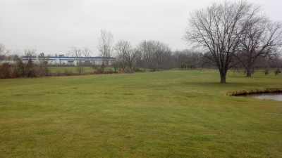 Sunnybrook, Main course, Hole 5 Long tee pad