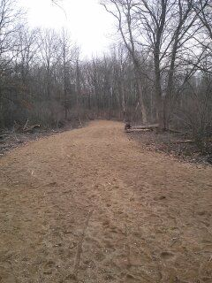 Vicksburg Recreation Area, Main course, Hole 12 Long approach