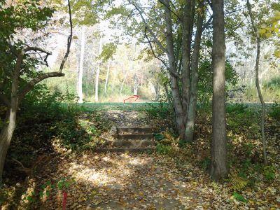 Vicksburg Recreation Area, Main course, Hole 16 Long tee pad