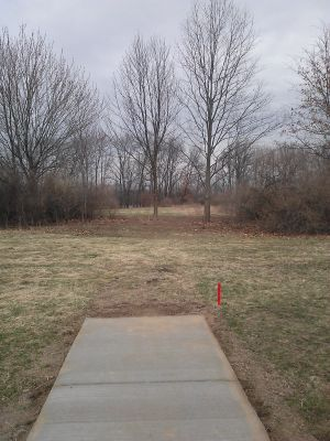 Vicksburg Recreation Area, Main course, Hole 10 Long tee pad