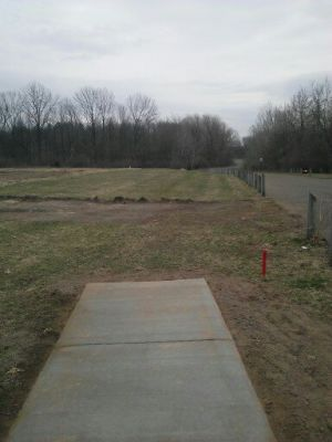 Vicksburg Recreation Area, Main course, Hole 12 Long tee pad