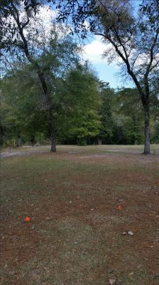 Anderson Pond, Main course, Hole 4 Long tee pad