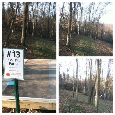 Redeemer Park, Main course, Hole 13