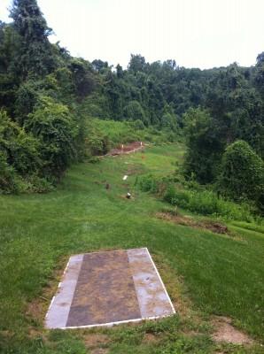 Redeemer Park, Main course, Hole 14 Tee pad