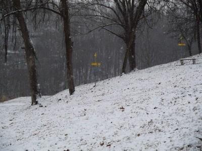 Redeemer Park, Main course, Hole 18 Midrange approach