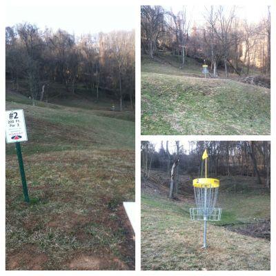 Redeemer Park, Main course, Hole 2