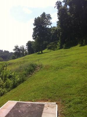 Redeemer Park, Main course, Hole 16 Tee pad