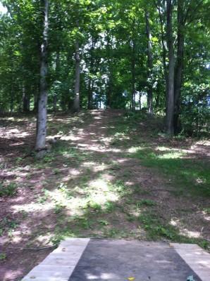 Redeemer Park, Main course, Hole 11 Tee pad