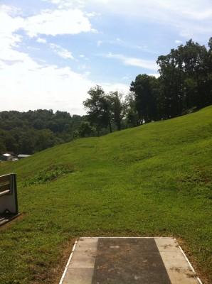 Redeemer Park, Main course, Hole 18 Tee pad