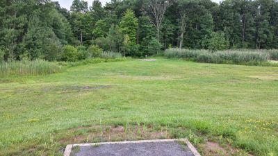 Blatnick Park, Main course, Hole 3 Long tee pad