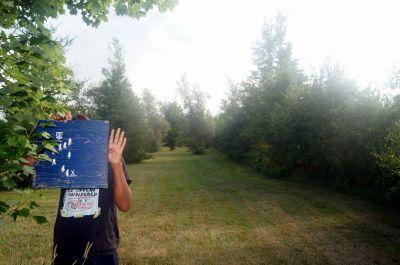 Pugwash DGC, Main course, Hole 4 Hole sign