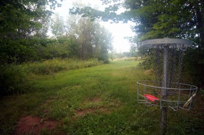 Pugwash DGC, Main course, Hole 7 Reverse (back up the fairway)