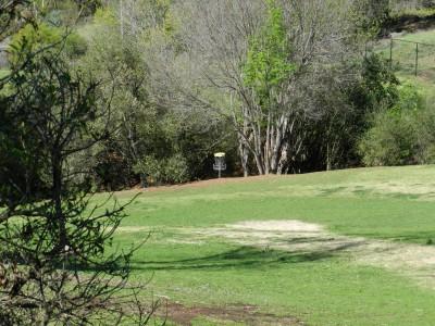 Brengle Terrace Park, Main course, Hole 4 Long approach