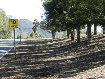 Brengle Terrace Park, Main course, Hole 18 Long approach