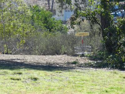 Brengle Terrace Park, Main course, Hole 8 Short approach
