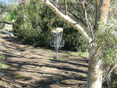 Brengle Terrace Park, Main course, Hole 11 Short approach