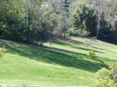 Brengle Terrace Park, Main course, Hole 3 Long approach