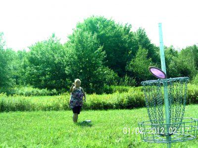 Ettyville DGC, Main course, Hole 7 Putt