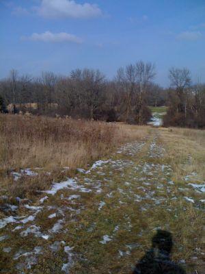 Dretzka Park, Winter course, Hole 23 Tee pad