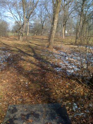 Dretzka Park, Winter course, Hole 15 Tee pad
