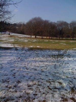 Dretzka Park, Winter course, Hole 17 Tee pad