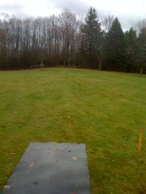 Dretzka Park, Winter course, Hole 5 Tee pad