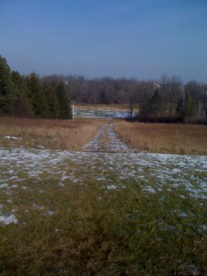 Dretzka Park, Winter course, Hole 8 Tee pad
