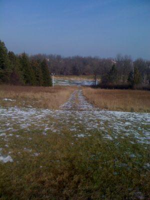 Dretzka Park, Winter course, Hole 8 Tee pad