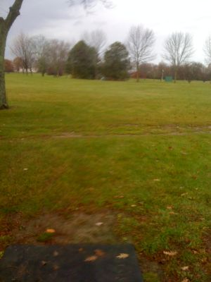 Dretzka Park, Winter course, Hole 27 Tee pad
