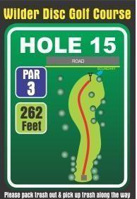 Wilder DGC, Main course, Hole 15