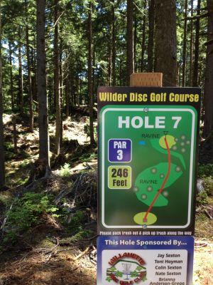 Wilder DGC, Main course, Hole 7