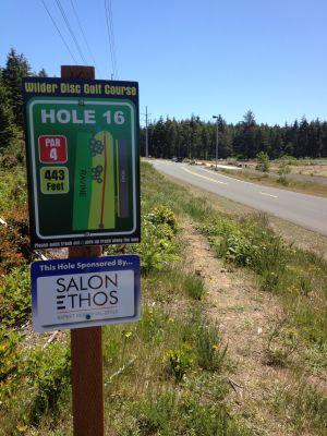 Wilder DGC, Main course, Hole 16