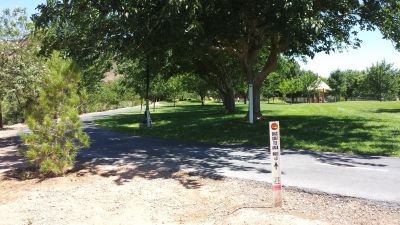 Mathis Park, Main course, Hole 3 Tee pad