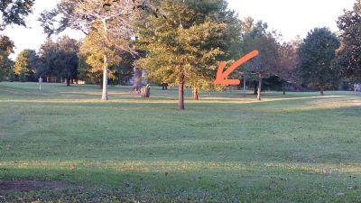 Lafreniere Park, Main course, Hole 23 Tee pad