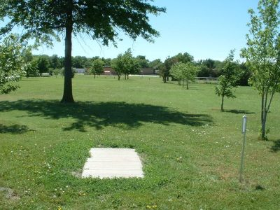 Wheatland Park, Main course, Hole 4 Tee pad