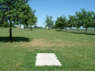 Wheatland Park, Main course, Hole 3 Tee pad