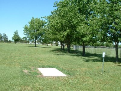 Wheatland Park, Main course, Hole 2 Tee pad