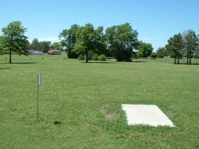 Wheatland Park, Main course, Hole 5 Tee pad