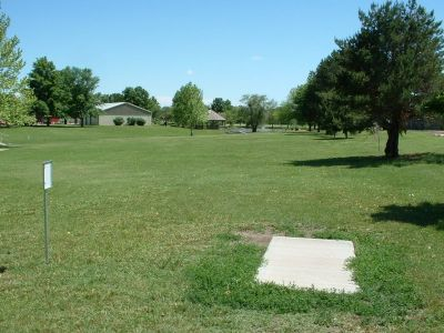 Wheatland Park, Main course, Hole 9 Tee pad