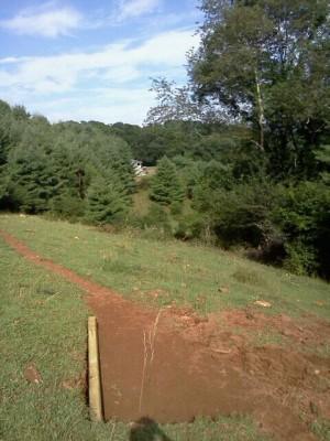 Simple Pleasures Farm, Simple Pleasures DGC, Hole 16 Long tee pad