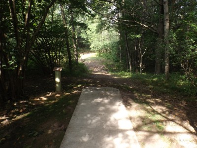 Deerfield Park, Wildwood, Hole 10 Long tee pad