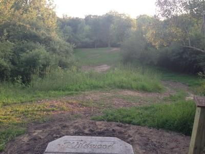 Deerfield Park, Wildwood, Hole 11 Short tee pad