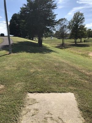Doctor's Memorial Park, Main course, Hole 9 Long tee pad