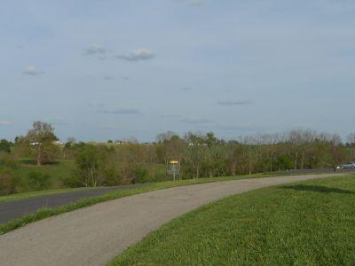 Herb Botts Memorial Park, Indian Mound DGC, Hole 10 Reverse (back up the fairway)