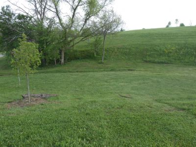 Herb Botts Memorial Park, Indian Mound DGC, Hole 5 Midrange approach